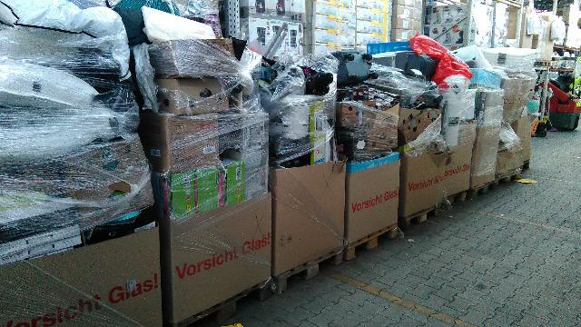 Lidl Mixpaletten Haushaltswaren,Küche,Bad, Dekoartikel etc. C -Ware Für Export Discounter Lidl
