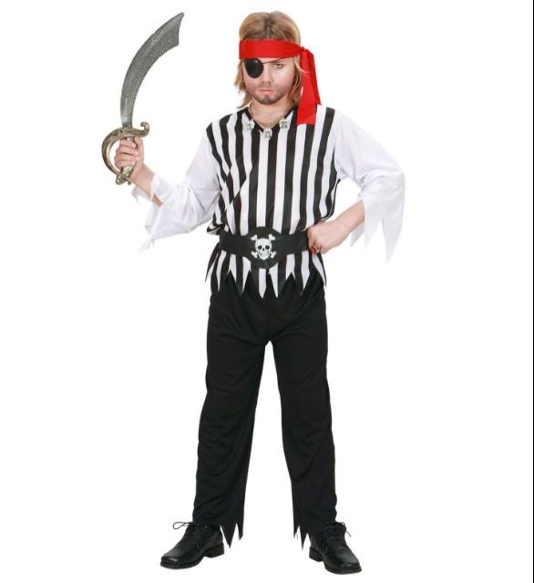 Piraten Kinder Faschings Kostüm und Karneval Set