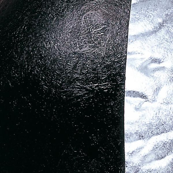 Blister Pendelleuchte 40cm Schwarz, Silberfarben