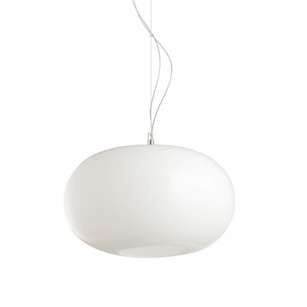 Blob M Opalglas Hängeleuchte Ø 35cm Weiss