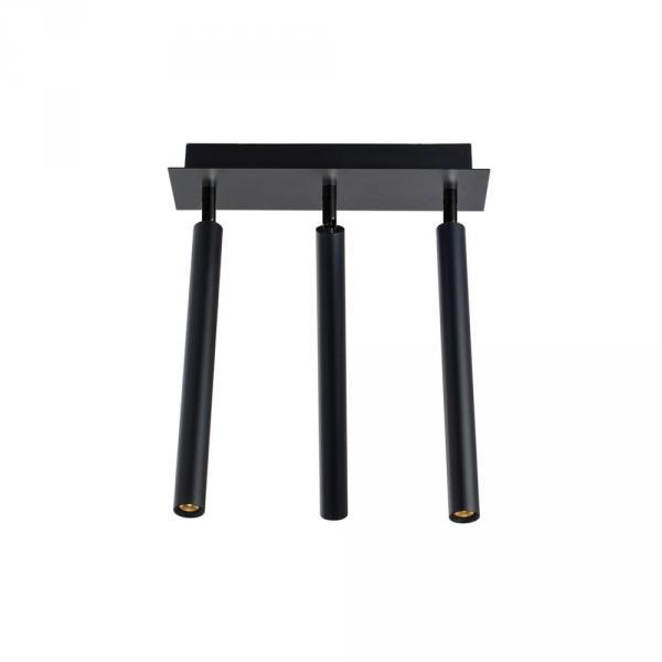 Crutch 3-armige LED Deckenleuchte Schwarz