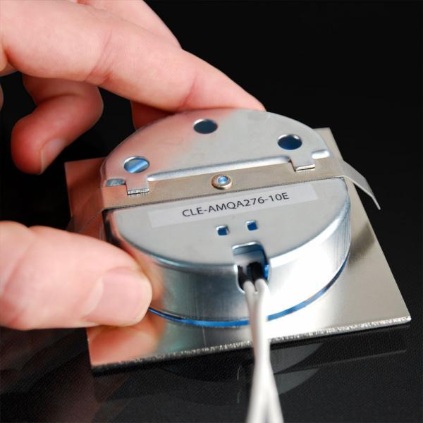 Einbaustrahler Contex mit Glaseinsatz Treppenleuchte