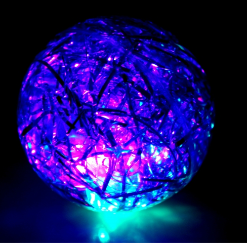 10-984220, LED Flummi 65 mm
