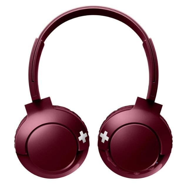 Philips SHB3075RD/00 Bass + On- Ear Kopfhörer