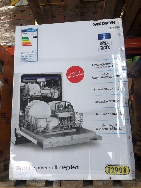 MEDION Geschirrspüler MD37128 Geschirrspülmaschine