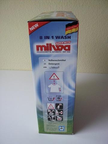 3 kg MILWA Vollwaschmittel - deutsche Qualität