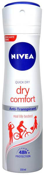 Nivea Deo Spray Dry Comfort Plus 150 ml