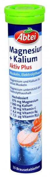 Abtei Magnesium + Kalium Brause