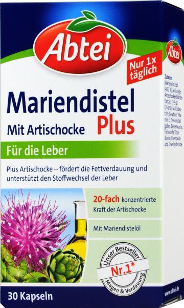 Abtei Mariendistel Plus Artischocke