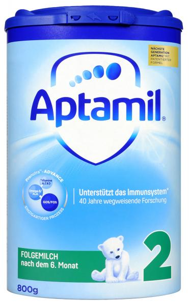 Aptamil Pronutra 2 Nach dem 6. Monat Advance