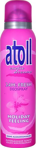 Atoll Deo Spray Holiday Feeling