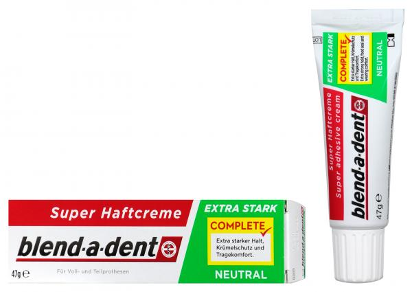 Blend-a-Dent Super Haftcreme Extra Stark Neutral