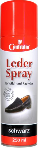 Centralin Leder Spray Schwarz