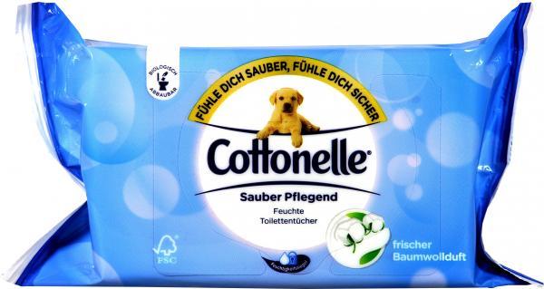 Cottonelle Feuchte Toilettentücher Clean Comfort Nachfüller