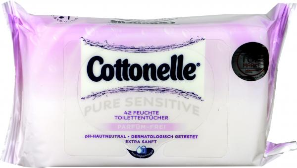 Cottonelle Feuchte Toilettentücher Sensitive Nachfüller
