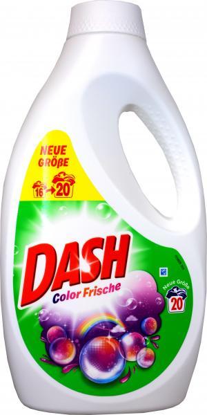 Dash Waschmittel Color Flüssigig 20 Waschladungen