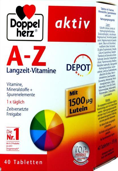Doppelherz A-Z Depot Langzeit-Vitamine