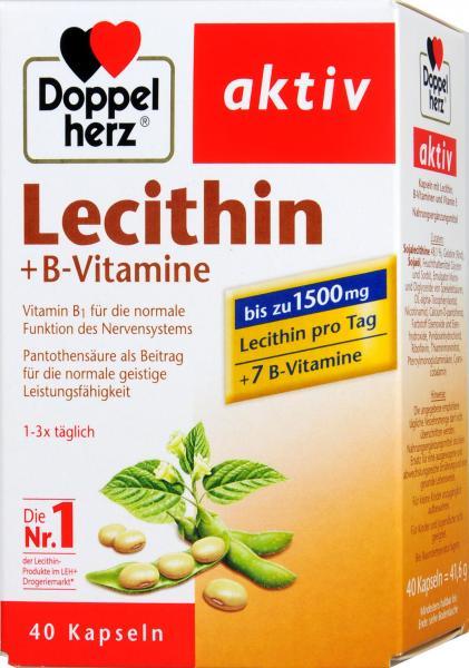 Doppelherz Lecithin + B-Vitamine