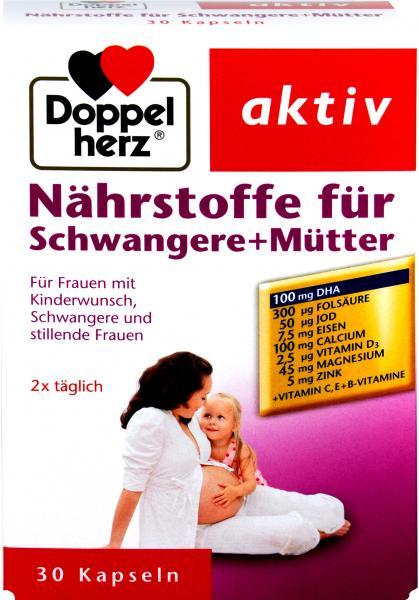 Doppelherz Nährstoff / Vitamine für Schwangere Mütter