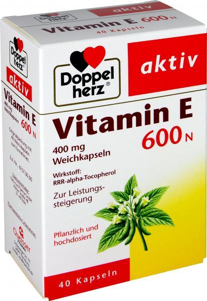 Doppelherz Vitamin E 600 N Kapseln