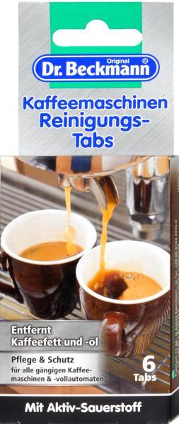Dr. Beckmann Kaffeemaschinen Reinigungstabs