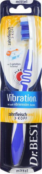 Dr. Best Zahnbürste Vibration Atemfrisch