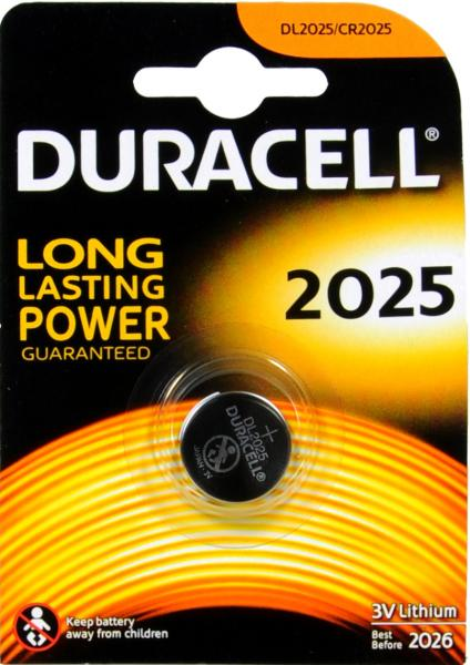 Duracell CR 2025 Doppelpack