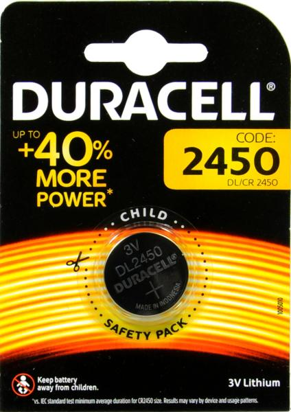 Duracell Electronics 2450