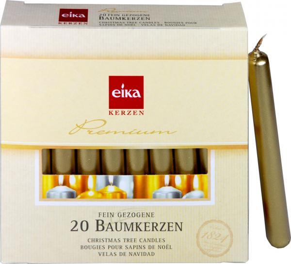 Eika Baumkerzen Gold