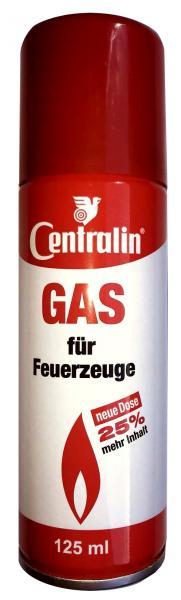 Feuerzeug-Gas Centralin