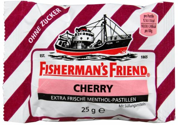 Fisherman's Friend Cherry Zuckerfrei
