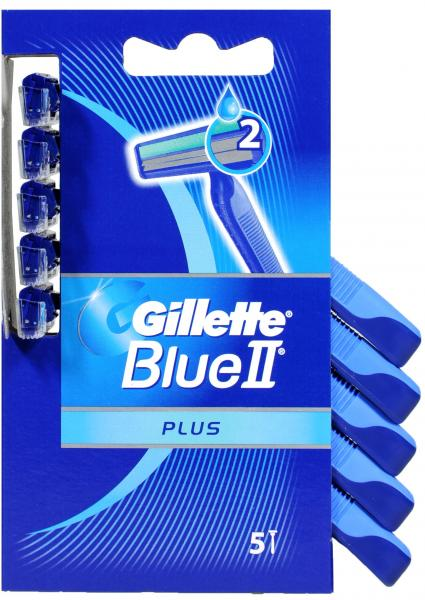 Gillette Blue II Plus Einwegrasierer