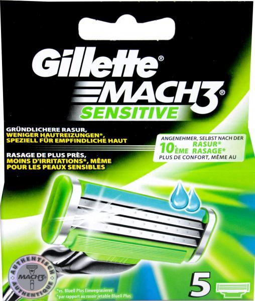 Gillette M3 Power Sensitive Klingen