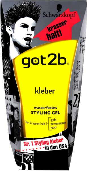 Got 2B Kleber Styling Gel