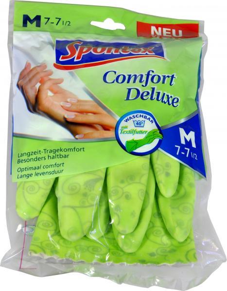Gummihandschuh Spontex Comfort Deluxe