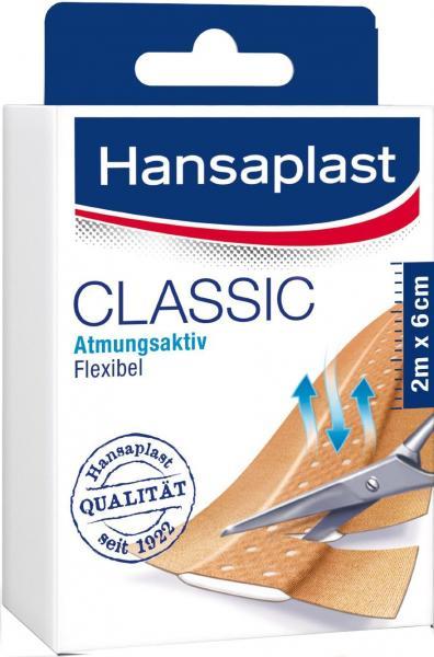 Hansaplast Classic 2 m : 6 cm