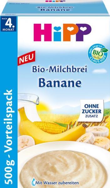 Hipp 3442 Bio Milchbrei Banane