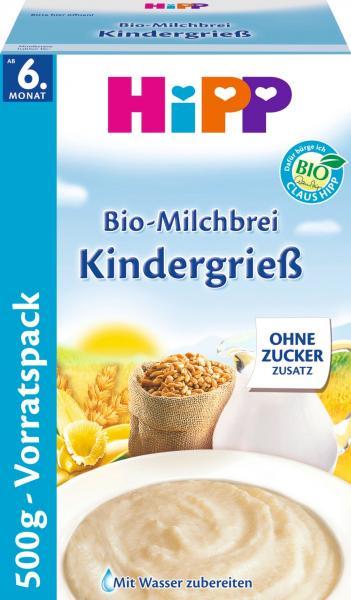 Hipp 3451 Bio Milchbrei Kindergrieß