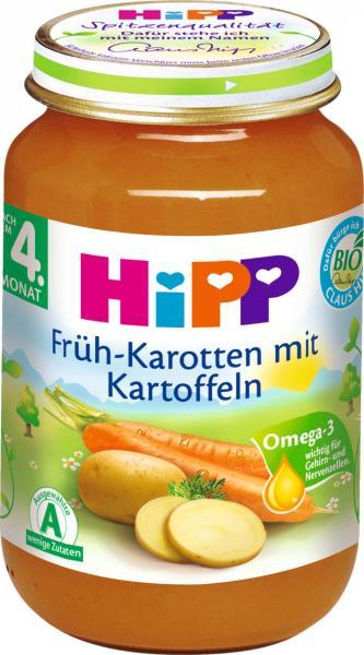 Hipp 4110 Frühkarotten Kartoffeln