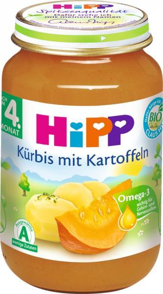 Hipp 4145 Kürbis Kartoffeln