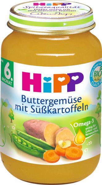 Hipp 4185 Bio Buttergemüse Süßkartoffeln