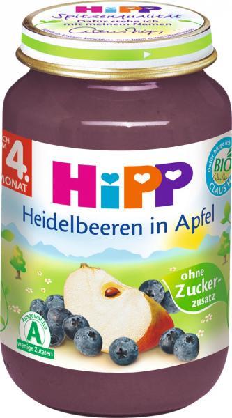 Hipp 4310 Bio Heidelbeeren Mit Apfel