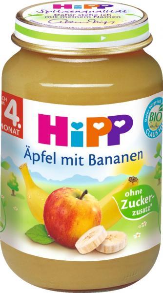 Hipp 4350 Äpfel mit Bananen