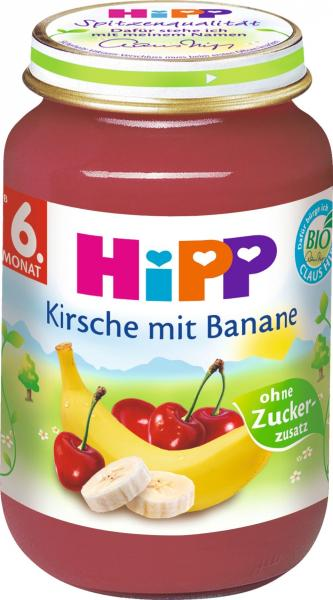 Hipp 4405 Kirsche- Banane
