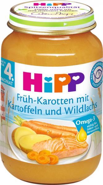 Hipp 6105 Bio Karotteffeln mit Lachs