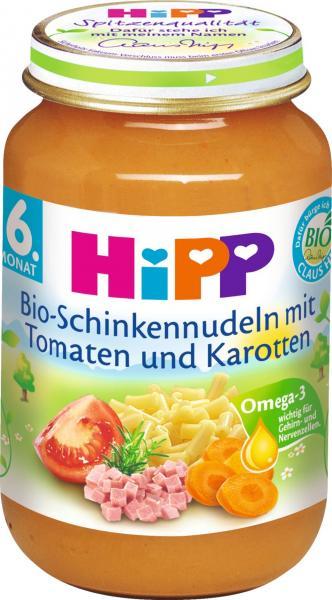 Hipp 6210 Bio Schinkennudeln mit Tomaten