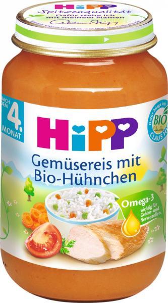 Hipp 6250 Bio Huhn mit Gemüsereis