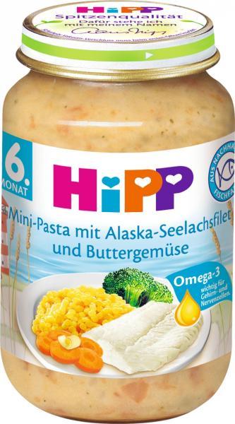 Hipp 6275 Pasta mit Lachs und Gemüse