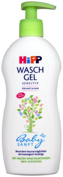 Hipp 9530 Babysanft Waschgel Haut und Haar