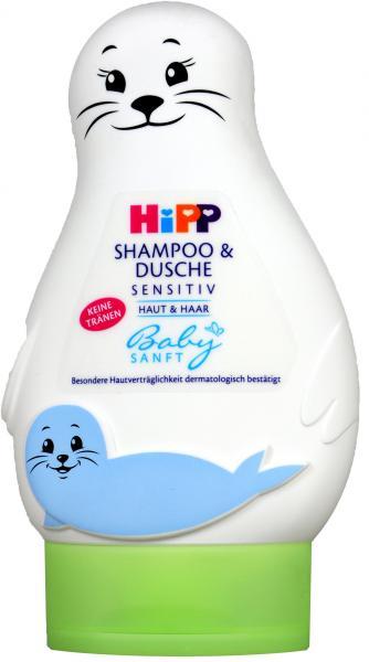 Hipp 9548 Babysanft Shampoo und Duschgel